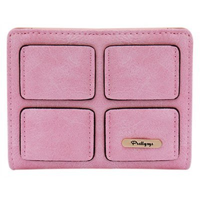Solid Color Design Clutch Wallet For Women