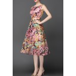 Sleeveless Floral Bohemian Dress for sale