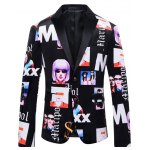Girl Printed Casual Suit For Men