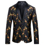 Animal Printed Casual Suit For Men