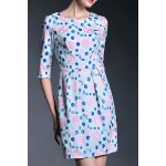 Ruched Floral Sheath Dress deal