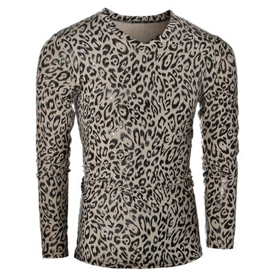 V-Neck Long Sleeve T-Shirt
