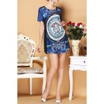 Simple Style Print Dress deal