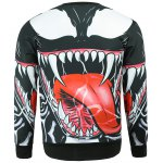 cheap Fashion Round Collar Mouth Printed Sweatshirt For Men