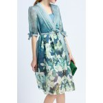 Cami Dress and Floral Print Belted Dress Twinset deal