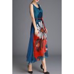Tank Dress and Printed Maxi Dress Twinset for sale