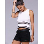 best Fashion Black Drawstring Lace Shorts For Women