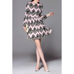 Slimming Patterned Dress deal