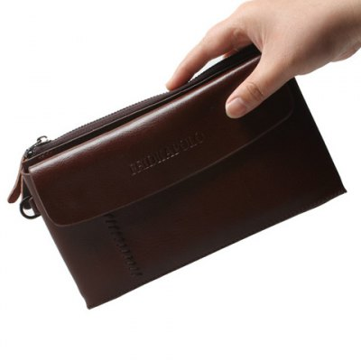 Trendy Letter and Zip Design Clutch Bag For MenMens Bags<br>Trendy Letter and Zip Design Clutch Bag For Men<br><br>Style: Fashion<br>Gender: For Women<br>Pattern Type: Solid<br>Handbag Size: Small(20-30cm)<br>Closure Type: Zipper<br>Interior: Cell Phone Pocket<br>Occasion: Versatile<br>Main Material: PU<br>Hardness: Soft<br>Weight: 0.309kg<br>Package Contents: 1 x Clutches<br>Length: 22CM<br>Height: 12CM
