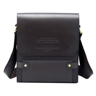 PU Leather Design Messenger Bag For Men