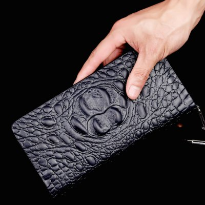 Fashion Dark Color and Embossing Design Wallet For WomenMens Wallets<br>Fashion Dark Color and Embossing Design Wallet For Women<br><br>Wallets Type: Clutch Wallets<br>Gender: For Men<br>Style: Dress<br>Closure Type: Zipper<br>Pattern Type: Solid<br>Main Material: PU<br>Length: 22CM<br>Width: 2.5CM<br>Height: 13CM<br>Weight: 0.350kg<br>Package Contents: 1 x Wallet