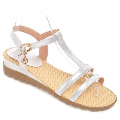 Buckle Design Sandals For Women