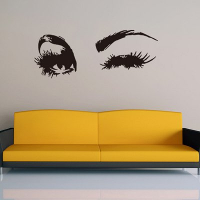 Eyes Wall Decals Removable Art Sticker Home Decoration