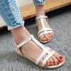 cheap Casual T-Strap and Buckle Design Sandals For Women