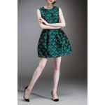 Beetle Embroidered Mini Ball Dress deal
