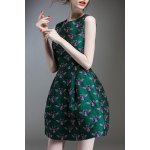 Beetle Embroidered Mini Ball Dress for sale