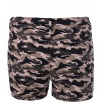 cheap Chic Women's Camouflage Print Shorts