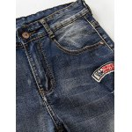 Retro Embroidery Embellishment Shorts For Men deal