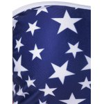 best American Flag Bandeau Cover Up