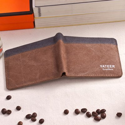 Casual Color Block and Canvas Design Wallet For MenMens Wallets<br>Casual Color Block and Canvas Design Wallet For Men<br><br>Wallets Type: Clutch Wallets<br>Gender: For Men<br>Style: Casual<br>Closure Type: No Zipper<br>Pattern Type: Patchwork<br>Main Material: Canvas<br>Length: 11.5CM<br>Width: 1CM<br>Height: 9.5CM<br>Weight: 0.082kg<br>Package Contents: 1 x Wallet