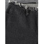 best Fashion Fringed Women's Ninth Flare Jeans