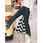 Fashion Fringed Women's Ninth Flare Jeans deal