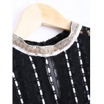 Elegant Round Neck Openwork Lace Long Sleeves Blouse For Women deal