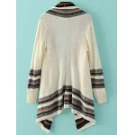 cheap Fashion Long Sleeve Color Block Striped Cardigan For Women