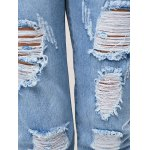Trendy Women's Bleach Wash Ripped Jeans for sale