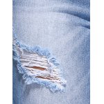 best Distressed Ripped Straight Jeans