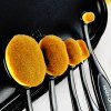 5 Pcs Oval Toothbrush Shape Fiber Makeup Brushes Set with Brush Package photo