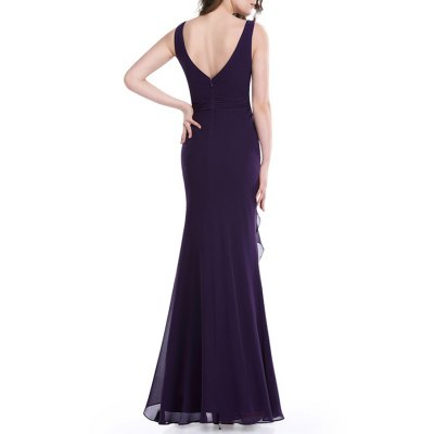 Knotted Backless Maxi Prom DressDesigner Dresses<br>Knotted Backless Maxi Prom Dress<br><br>Style: Sheath<br>Occasion: Formal<br>Material: Polyester<br>Composition: 100% Polyester<br>Dresses Length: Floor-Length<br>Neckline: Round Collar<br>Sleeve Length: Sleeveless<br>Pattern Type: Solid<br>With Belt: No<br>Season: Spring,Summer<br>Weight: 0.520kg<br>Package Contents: 1 x Dress