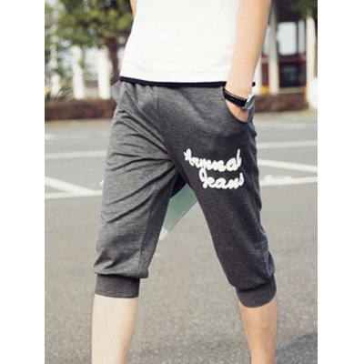 Elastic Waist Solid Color Letter Printing Shorts For MenMens Shorts<br>Elastic Waist Solid Color Letter Printing Shorts For Men<br><br>Style: Casual<br>Length: Short<br>Material: Cotton,Polyester<br>Fit Type: Regular<br>Waist Type: Mid<br>Closure Type: Drawstring<br>Front Style: Flat<br>With Belt: No<br>Weight: 0.550kg<br>Package Contents: 1 x Shorts