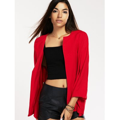 ninth-sleeve-turn-collar-red