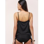 Chic Two Side Drawstring Women's Cami Swimwear for sale