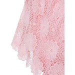 Fashionable Off The Shoulder Crochet Lace Crop Top For Women for sale