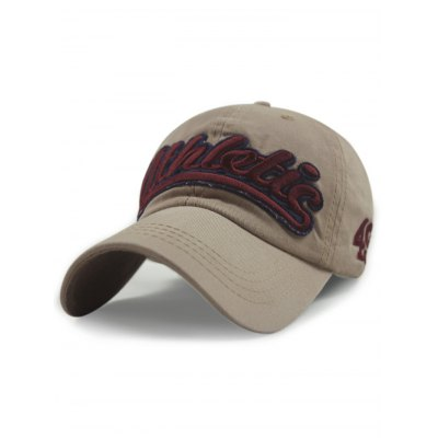 Chic Letter Embroideried Baseball Hat