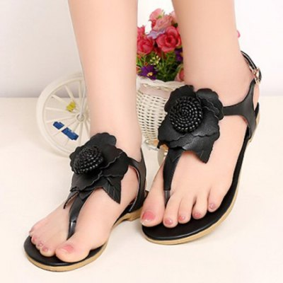 Casual Flip-Flop and Flower Design Sandals  For Women