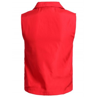 Solid Color Zip-Up Turn-Down Collar Polyester Waistcoat For MenWaistcoats<br>Solid Color Zip-Up Turn-Down Collar Polyester Waistcoat For Men<br><br>Material: Cotton,Polyester<br>Style: Fashion<br>Clothing Length: Regular<br>Collar: Turn-down Collar<br>Thickness: Standard<br>Closure Type: Zipper<br>Weight: 0.175kg<br>Package Contents: 1 x Waistcoat