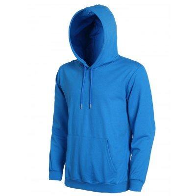 Casual Solid Color Ribbed Hem Long Sleeve Hoodie For MenMens Hoodies &amp; Sweatshirts<br>Casual Solid Color Ribbed Hem Long Sleeve Hoodie For Men<br><br>Material: Cotton Blends<br>Clothing Length: Regular<br>Sleeve Length: Full<br>Style: Casual<br>Weight: 0.433kg<br>Package Contents: 1 x Hoodie