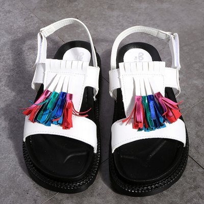 Casual Tassels and Platform Design Sandals For Women