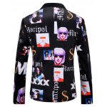 Casual Girl Printed Blazer For Men deal