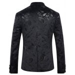 Casual Abstract Printed Blazer For Men deal