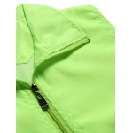 Solid Color Zip-Up Turn-Down Collar Polyester Waistcoat For Men deal