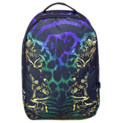 Multicolor Design Backpack For Men