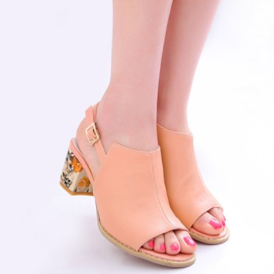 Slingback Design Sandals For Women
