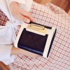 Fashion PU Leather and Color Splicing Design Wallet For Women deal