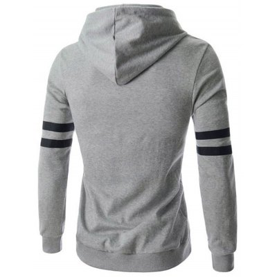 Izzumi Letter Pullover HoodieMens Hoodies &amp; Sweatshirts<br>Izzumi Letter Pullover Hoodie<br><br>Material: Cotton Blends<br>Clothing Length: Regular<br>Sleeve Length: Full<br>Style: Casual<br>Weight: 0.627kg<br>Package Contents: 1 x Hoodie