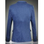 Trendy Notch Lapels Single Button Opening Casual Blazer For Men deal
