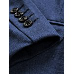 Trendy Notch Lapels Single Button Opening Casual Blazer For Men photo